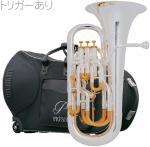 PRESON ( プレソン ) PR-3300SP 銀メッキ仕上げ 新品 トリガー搭載 ユーフォニアム B♭ 4ピストン コンペンセイティングシステム 管楽器 管体 シルバー 一部送料追加