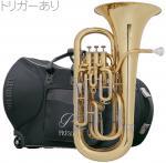 PRESON ( プレソン ) PR3300GL 新品 ユーフォニアム ゴールド  B♭ 4ピストン コンペンセイティングシステム トリガー搭載 管楽器 管体 イエローブラスベル 一部送料追加