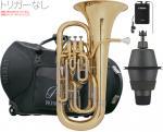 PRESON ( プレソン ) PR-3300GL セット B 【トリガーなし】  新品 ユーフォニアム ゴールド B♭ 4ピストン コンペンセイティングシステム 管楽器 管体 PR3300GL 一部送料追加