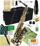 J Michael ( Jマイケル ) AL-900B アルトサックス 新品 カラー ブラック 管楽器 管体 黒色 初心者 アルトサクソフォン 本体 black AL900B セット B