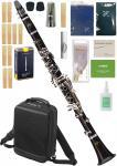 Buffet Crampon ( クランポン ) E12 France B♭ クラリネット BC2512F-2-0J 標準パッケージ バックパック ケース 木製 soprano clarinet E12-F セット A