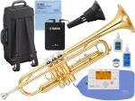 YAMAHA ( ヤマハ ) YTR-3335 トランペット リバース管 ゴールド 1本支柱 管楽器 B♭ 正規品 YTR-3335-01 Trumpet サイレントブラス SB7X セット 北海道 沖縄 離島 不可