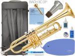 YAMAHA ( ヤマハ ) YTR-3335 トランペット リバース管 ゴールド 1本支柱 管楽器 B♭ 正規品 YTR-3335-01 Trumpet BACH マウスピース セット G 北海道 沖縄 離島 不可