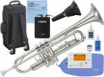 YAMAHA ( ヤマハ ) YTR-3335S トランペット 正規品 銀メッキ リバース シルバー B♭ 管楽器 YTR-3335S-01 Trumpet セット D 北海道 沖縄 離島 不可
