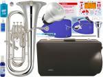 YAMAHA ( ヤマハ ) YEP-621S WEB限定 調整品 ユーフォニアム 新品 銀メッキ 4ピストン 太管 日本製 管楽器 Euphonium YEP621S セット C 一部送料追加