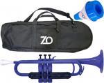 ZO ( ゼットオー ) TP-10BK トランペット ダークブルー ミュート セット ブルー アウトレット プラスチック 楽器 Dark Blue trumpet mute 北海道 沖縄 離島不可