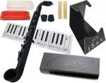 NUVO ( ヌーボ ) jSAX ブラック  N520JBBK  プラスチック製 管楽器 サックス系 リード楽器 本体 黒色 black  jサックス BK セット H バージョン2
