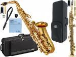 YAMAHA ( ヤマハ ) YAS-480 アルトサックス 管楽器 E♭ alto saxophone gold YAS-480-01 ソプラノサックス SP-650 セット 北海道 沖縄 離島不可