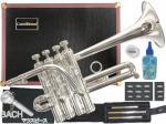 CarolBrass (  キャロルブラス ) N7775 SP ピッコロトランペット 銀メッキ 4ピストン 管楽器 本体 piccolo trumpet 北海道 沖縄 離島不可