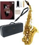 Antigua  ( アンティグア ) エルドン カーブドソプラノサックス 管楽器 eldon curved soprano saxophone GL ソプラノサックス JAZZ 楽譜 セット 北海道 沖縄 離島不可