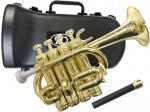 ZO ( ゼットオー ) ピッコロトランペット PC-08 シャンパンゴールド 調整品 新品 アウトレット プラスチック B♭ A piccolo trumpet gold 北海道 沖縄 離島不可