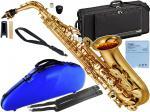 YAMAHA ( ヤマハ ) 箱ボロ アウトレット YAS-480 アルトサックス 管楽器 E♭ alto saxophone gold YAS-480-01 CCシャイニー ブルー セット 北海道 沖縄 離島不可