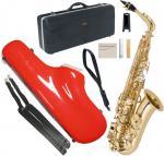 Antigua  ( アンティグア ) アウトレット エルドン アルトサックス CCシャイニー ケース セット 管楽器 ラッカー 本体 eldon GL Alto saxophone 北海道 沖縄 離島不可