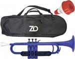 ZO ( ゼットオー ) TP-10BK トランペット ダークブルー ミュート セット レッド アウトレット プラスチック 楽器 Dark Blue trumpet mute 北海道 沖縄 離島不可