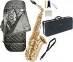 Antigua  ( アンティグア ) エルドン アルトサックス セミハードケース セット 管楽器 管体 ラッカー 楽器 本体 eldon GL Alto saxophone AS-830 セット 北海道 沖縄 離島不可