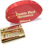 HOHNER ( ホーナー ) ダブルパック 553/40/CG アウトレット ミニハーモニカ ゴールド C調 & G調 が1本に ブルースハープ ヒストリックコレクション 10穴 ハーモニカ 楽器