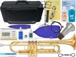 YAMAHA ( ヤマハ ) YTR-4335GII トランペット ゴールドブラスベル 新品 管楽器 B♭ trumpet 管体 gold YTR-4335G2 本体 初心者 【 YTR4335G2 セット B】