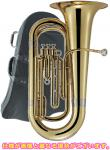 J Michael ( Jマイケル ) TU-2000 新品 アウトレット チューバ 3ピストン 第3 トップアクション B♭ 本体 初心者 管体 小型 ゴールド 管楽器 TU2000 一部送料追加