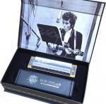 HOHNER ( ホーナー ) ボブディラン シグネチャーモデル 10穴 C調 木製ボディ ブルースハープ 型 テンホールズ ハーモニカ 楽器 Bob Dylan SIG.