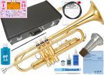 YAMAHA ( ヤマハ ) YTR-2330 トランペット 新品 ゴールド 正規品 管楽器 初心者 B♭ Trumpet gold 楽器 本体 【 YTR2330入門 】