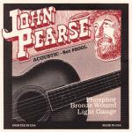 John Pearse Strings ( ジョンピアス ) 600L フォスファーブロンズ/LIGHT 012-053