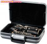 GL CASES ( GLケース ) GLC-CL クラリネットケース 型抜きタイプ ABS ハードケース 管楽器 収納 ケース B♭クラリネット用 楽器 持ち運び 収納 ブラック チェッカー