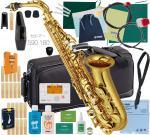 YAMAHA ( ヤマハ ) YAS-62 アルトサックス 新品 日本製 管楽器 サックス 管体 ゴールド 初心者 アルトサクソフォン 正規品 楽器 【 YAS62 セット B 】
