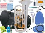 PRESON ( プレソン ) PR-3300SP 銀メッキ仕上げ 新品 ユーフォニアム B♭ 4ピストン コンペンセイティングシステム 管楽器 管体 シルバーメッキ イエローブラスベル