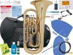 PRESON ( プレソン ) PR3300GL 新品 ユーフォニアム ゴールド  B♭ 4ピストン コンペンセイティングシステム トリガー搭載 管楽器 管体 イエローブラスベル ユーフォ