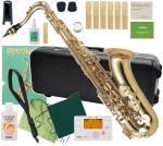Antigua  ( アンティグア ) テナーサックス スタンダードシリーズ GL 管体 ゴールド T.SAX 初心者 管楽器 サックス 本体 マウスピース ケース 【 アンティグアテナー セットA】