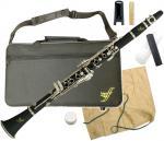 ZEFF ( ゼフ ) ZCL-30 クラリネット 新品 樹脂製 B♭ 本体 初心者 管楽器 プラスチック製 管体 マウスピース ケース 楽器 clarinet 【 ZCL30 セット C】