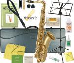 SAVALEY ( サバレイ ) テナーサックス 新品 アウトレット STN-200 ゴールド サックス 初心者 管楽器 B♭ 本体 テナーサクソフォン マウスピース ケース 【 STN200 セット A】