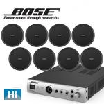 BOSE ( ボーズ ) DS40FB ブラック 8台 天井埋込 HIセット( IZA190-HZ )
