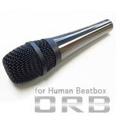 ORB ( オーブ ) CF-3FHB ◆ ダイナミックマイク Human Beatbox for ヒューマンビートボックス