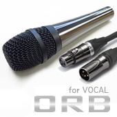 ORB ( オーブ ) CF-3 WJ10-5M ◆ ダイナミックマイク for ボーカル ケーブル 5m付属