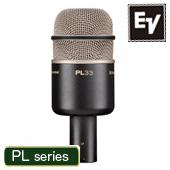 Electro-Voice ( EV エレクトロボイス ) PL33 ◆ ダイナミックマイク スーパーカーディオイド