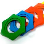 W&H ( ダブルアンドエッチ ) MA88-6 ◆ 転がり防止リング6個入 カラー