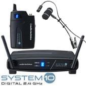 audio-technica ( オーディオテクニカ ) ATW-1101 と PRO35XcW 管楽器向け ワイヤレスセット ◆  トランペット サクソフォン奏者のステージ上でのライブパフォーマンスに