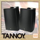 TANNOY DVS6 B/ブラック (ペア)  ◆ フルレンジスピーカー・全天候型
