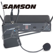 SAMSON ( サムソン ) ESWC88BHS5J-B ◆ ヘッドセット型 ワイヤレスマイク システム for ドラマー キーボーディスト ダンサー
