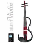 YAMAHA ( ヤマハ ) Silent violin SV150S WR ワインレッド サイレントバイオリン カーボン弓 ケース 松脂 セット エフェクト エレキバイオリン 4/4サイズ