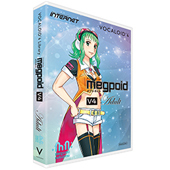INTERNET ( インターネット ) VOCALOID4 Library Megpoid V4 Adult