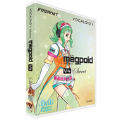 INTERNET ( インターネット ) VOCALOID4 Library Megpoid V4 Sweet