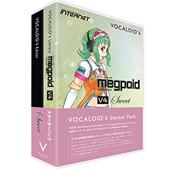 INTERNET ( インターネット ) VOCALOID4 スターターパック Megpoid V4 Sweet