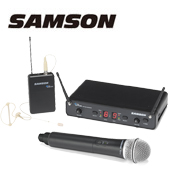 SAMSON ( サムソン ) ESWC288PROC-B ◆ ハンドヘルド イヤーセットマイク プロコンボ デュアルワイヤレスシステム for ボーカル スピーチ