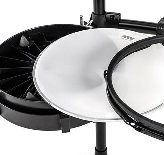2層ドラムヘッド
