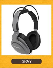 Superlux HD661  GRAY グレー モニターヘッドホン