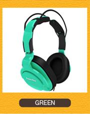 Superlux HD661  GREEN グリーン モニターヘッドホン