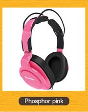 Superlux HD661 Phosphor pink 蛍光ピンク モニターヘッドホン