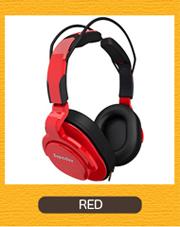 Superlux HD661  RED レッド モニターヘッドホン